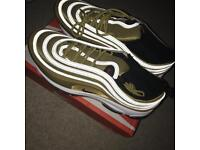 Brand new men's air max 97 Gold bullet LIMITED EDITION SOLD OUT IN STORES authentic