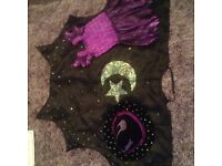 Kids fancy dress witches costume