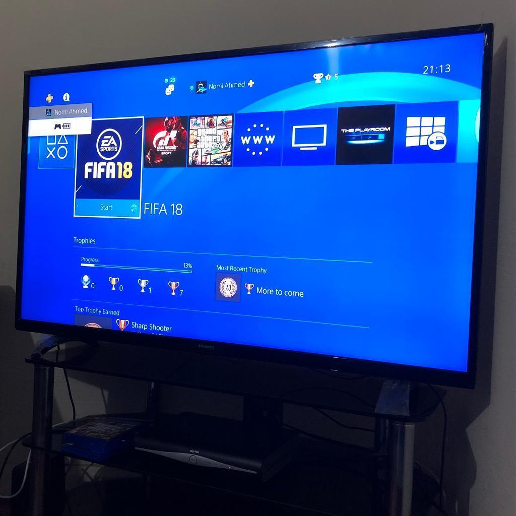 "55"" POLAROID HD SMART PLASMA TV (BIG)"
