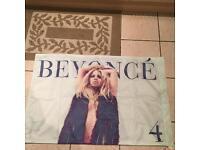 Beyoncé memorabilia flag