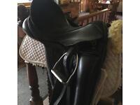 Dressage horse tack