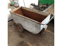 WHEEL BORROWS / MEAL BINS FOR SALE - sheep, cows, chickens, pigs, horses
