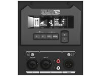 Mackie DLM12 Active 2000W speaker (with 2 channel digital mixer