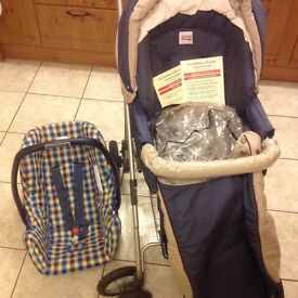 Britax 'Italian collection' travel system