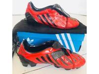 Adidas Predator Fantasy Powerswerve 2008 RARE UK 8.5 FG Firm Football Cleats Soccer Footy Boots