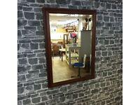 Large Vintage Bevelled Mirror