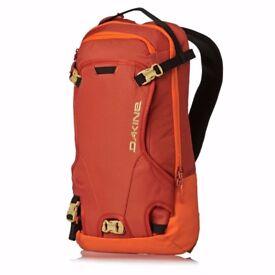 Stolen Orange Backpack