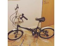 Folding Bike 95% New with all cycling accessories for sale  West Midlands