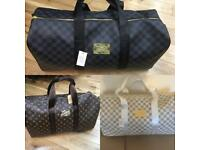 LV Holdalls Louis Vuitton Holdall Gucci Keepall Designer luggage Travel Bags Bag london cheap North
