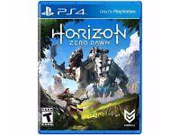Horizon zero dawn for PS4 - selling ASAP