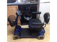 PRIDE GO GO ELITE TRAVELER MOBILITY SCOOTER IN EXCELLENT CONDITION WITH NEW BATTERIES FITTED