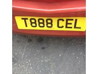 Private Car registration T888 CEL