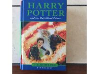 HARRY POTTER AND THE HALF BLOOD PRINCE, FIRST EDITION