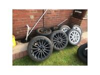 Car tyres job lot 28