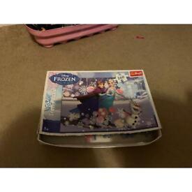 Frozen 160 puzzle pieces