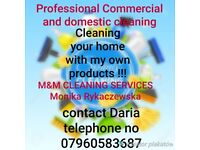 Professional commercial and domestic cleaning
