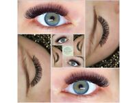 "Eyelashes extensions ""LinuteS beautylashes"""