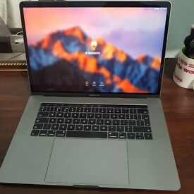 Late 2016 15 Touchbar Retina Macbook Pro i7 2.9Ghz 16GB, 1TB SSD AMD 455 GPU