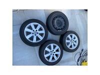 4 wheels - 15 inch