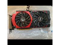 MSI Nvidia GeForce GTX 970 GPU 4Gb Graphics Card