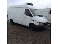 02 reg Mercedes sprinter 308 mwb 1250. Ono. East london