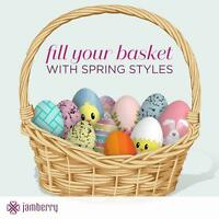 Jamberry baskets for events