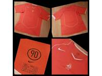 Nike 90 Orange Sports Top Mens Large Great Condition