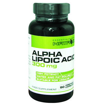 NATROID ALPHA LIPOIC ACID 300mg 60 CPS