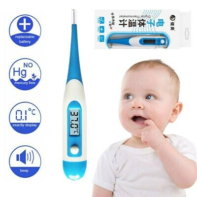 Digital LCD Thermometer Baby Adult Oral Electronic Termometr