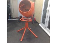 Bell cement mixer