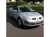 2006-Renault magan 1.6 convertible with history