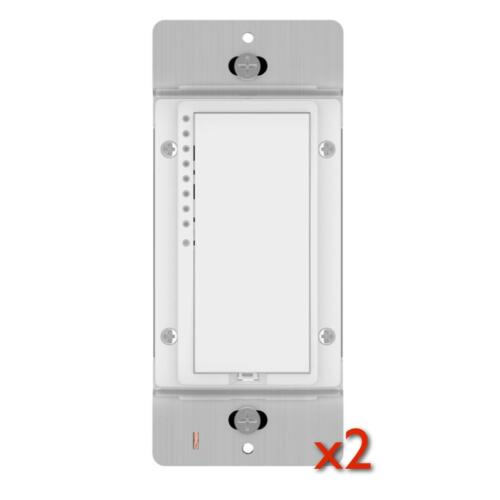 NEW Insteon Smart Dimmer Wall Switch 2477D White - 2 PACK