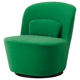 IKEA Stockholm Swivel Chair - Green