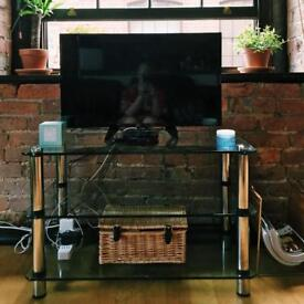 Glass media unit / TV stand RRP £350