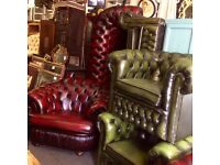Oxblood Chesterfield 3piece suite