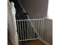 Two baby dan extendable stair gates