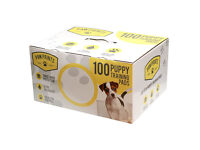 100 x Paw Prints Puppy training pads with indicator - NEW!