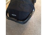 Graco pushchair with car seat