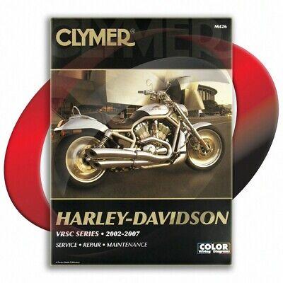 2007 Harley Davidson VRSCDX Night Rod Special Repair Manual Clymer M426 Service