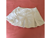 Fred Perry white tennis skirt