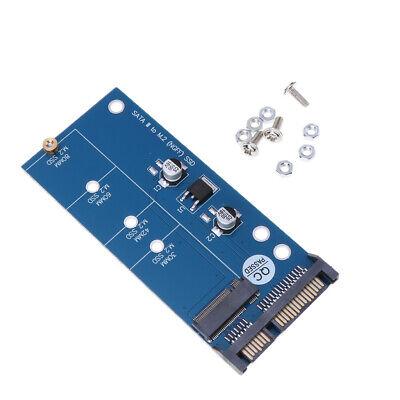 Adaptador SSD M.2, tarjeta convertidora NGFF o MSATA a SATA, compatible con...