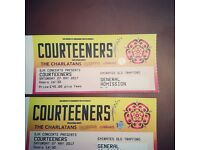 2 x courteeners tickets for sale