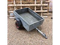 Caddy galv steel trailer