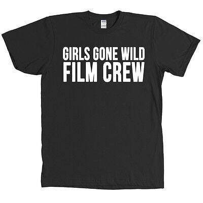 Girls Gone Wild Film Crew T Shirt Halloween Costume Camera Man Funny Tee - - Girls Gone Wild Halloween Costume