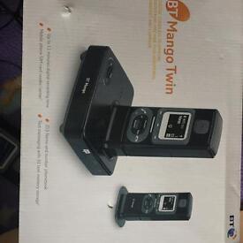 Bt twin digital cordless phone set