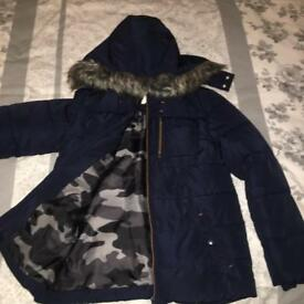 Boys coat 11-12years