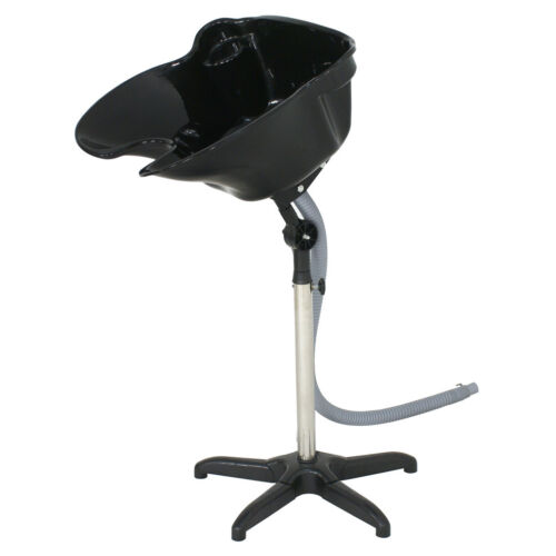 Salon SPA Shampoo Bowl Portable Deep Basin Height Adjustable Hair Wash Treatment Backwash Units & Shampoo Bowls