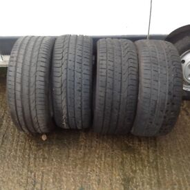 Jaguar XF Perreli Tyres