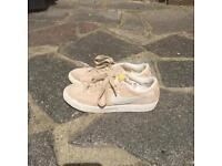 Beige Nike Blazers (Women's Size 4)