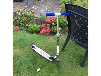 Blue Razor Spark Scooter.
